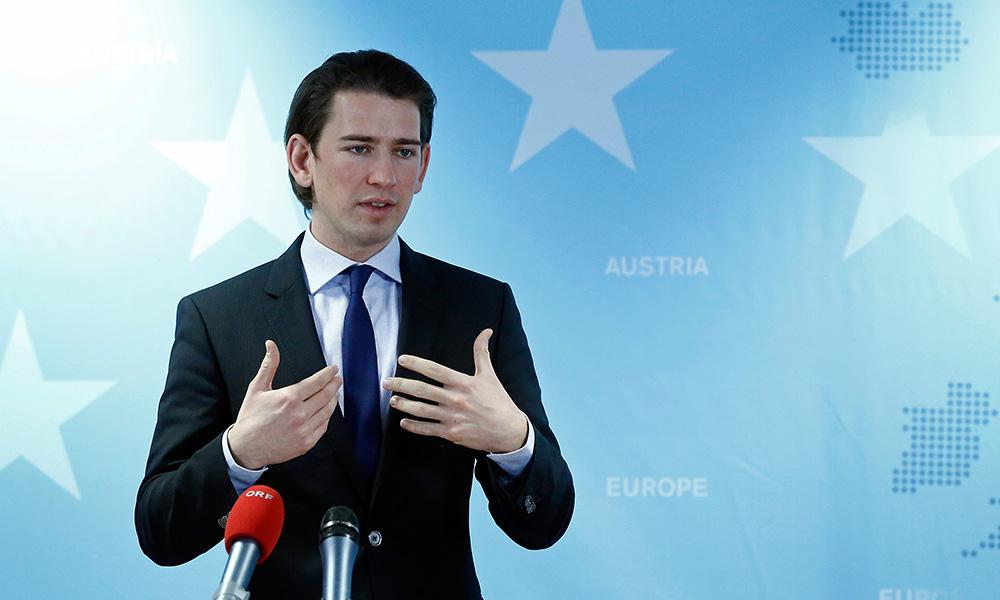 Avusturya Uyum Bakanı Sebastian Kurz