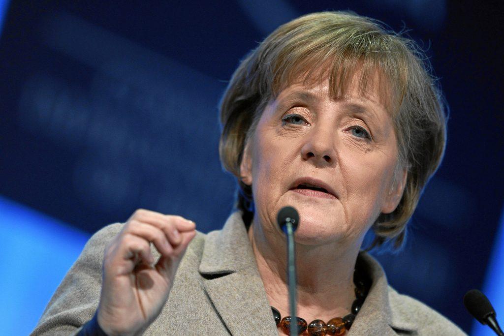 suriyelilerin Merkel