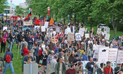 nefret karşıtı protesto Kanada