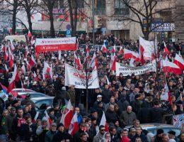 Polonya'da bağımsızlı kutlamaları