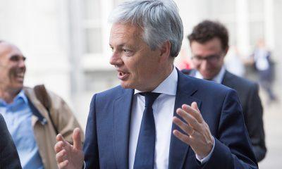 filistin Belçika Didier Reynders