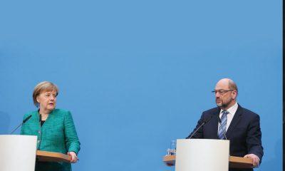 Almanya büyük koalisyon sözleşmesi