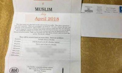 İngiltere bir Müslümanı cezalandır mektubu
