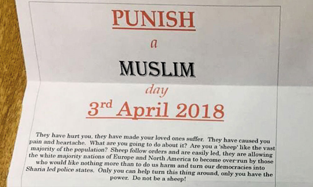 bir müslümanı cezalandır