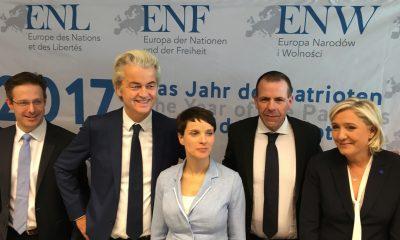 Avrupa'daki aşırı sağcı liderlerin buluşması