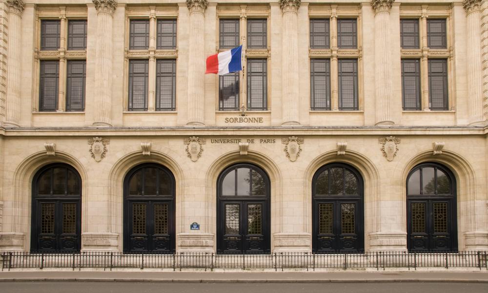 Fransa üniversite sorbonne