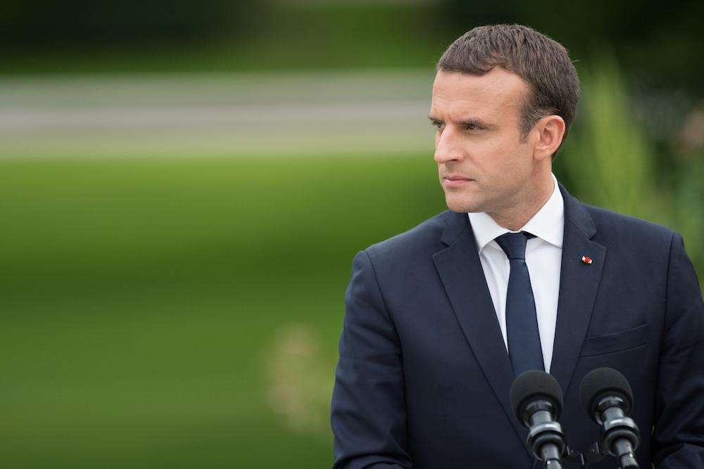 Macron Cezayir savaşı