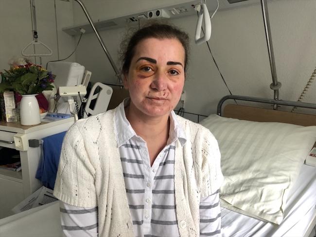 Almanya Türk kadına saldırı