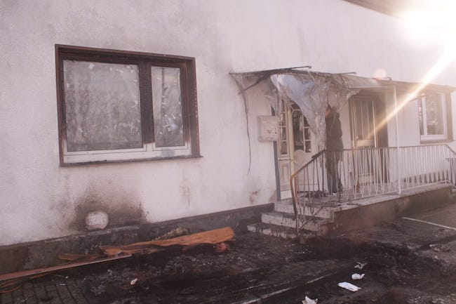 Almanya Yiğit ailesi yangın