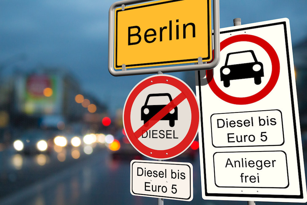 Berlin dizel yasağı