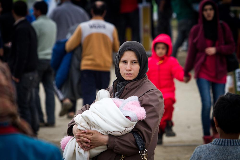 mülteci kadınlar