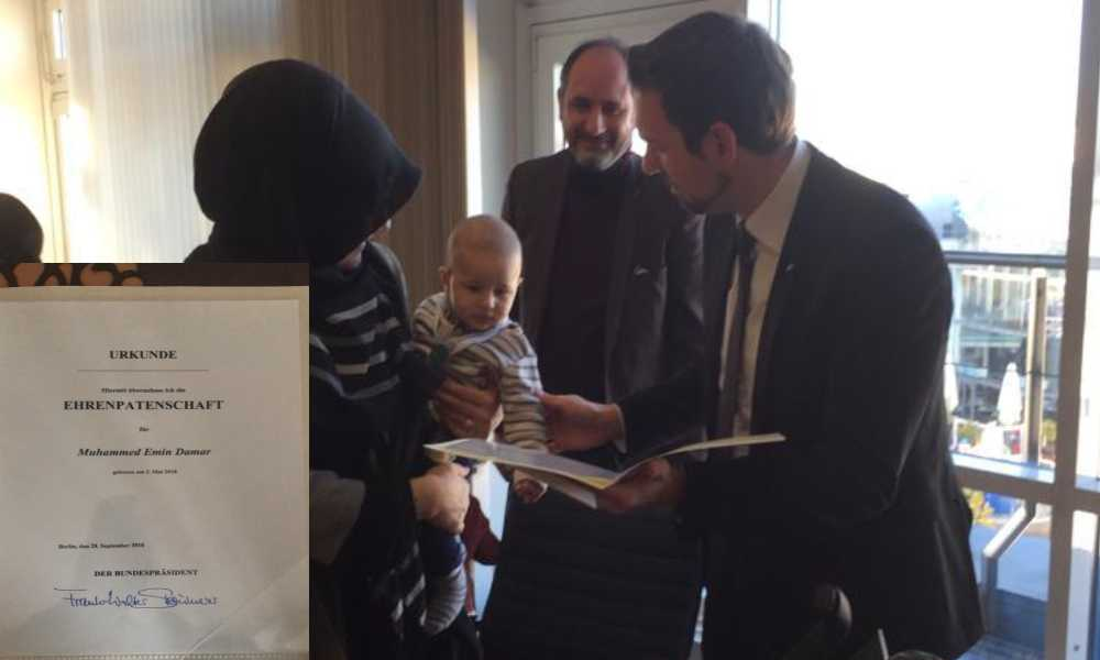 Almanya Türk aile onur belgesi