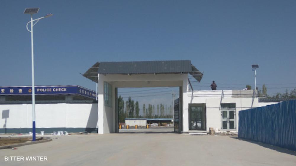 Uygur eğitim kampı